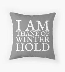 Thane of Winterhold Throw Pillow