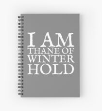 Thane of Winterhold Spiral Notebook