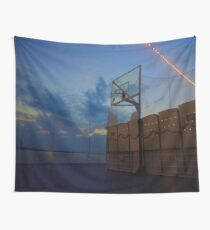 Basketball Court Wall Tapestry