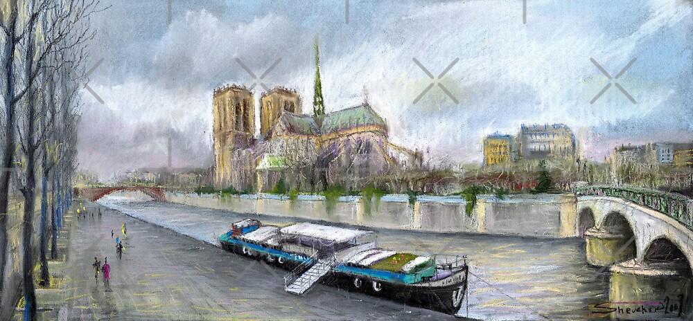 Paris Notre-Dame de Paris by Yuriy Shevchuk