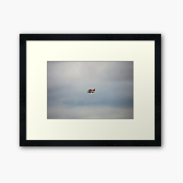 SWISS AIR FORCE PATROUILLE SUISSE Framed Art Print