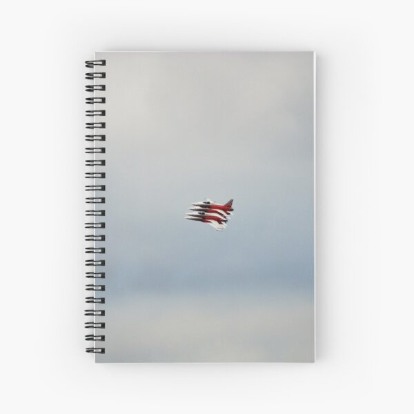 SWISS AIR FORCE PATROUILLE SUISSE Spiral Notebook
