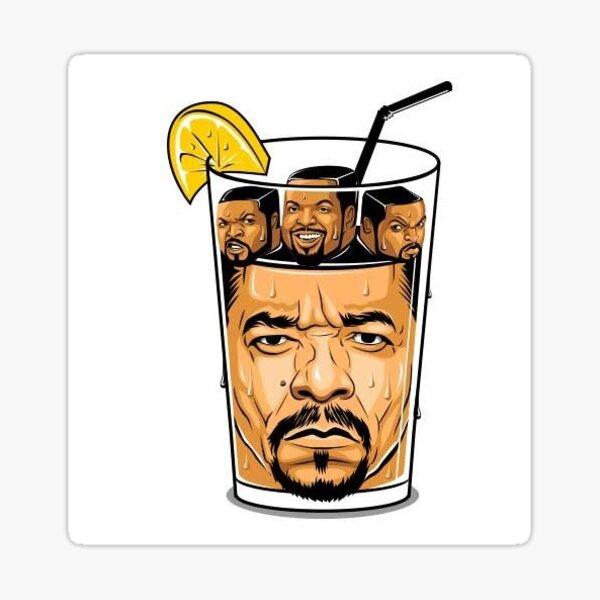 Ice Tea Ice Cube Sticker