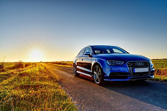 Audi S Sunset Photographic Prints By SteffenGehrig Redbubble - Sunset audi