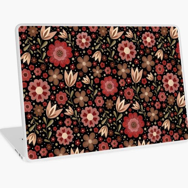 Summer floral pattern Laptop Skin