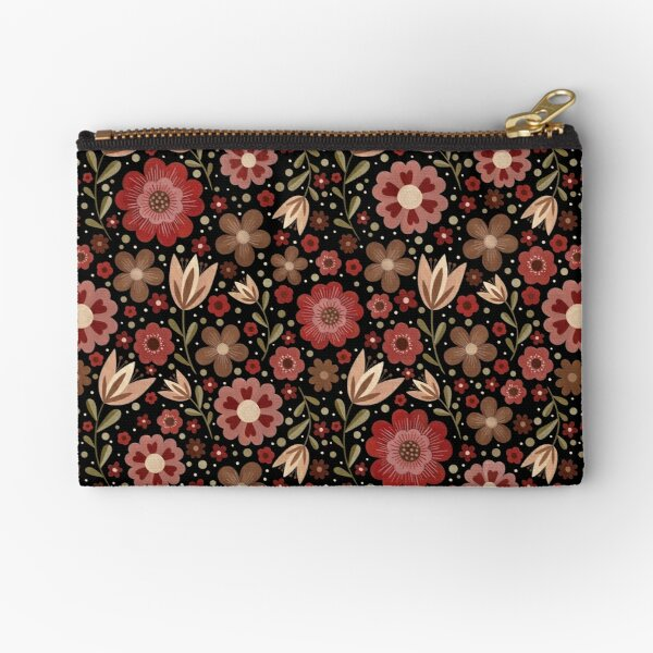 Summer floral pattern Zipper Pouch