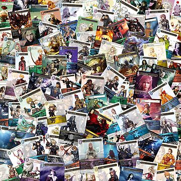 Final Fantasy TCG - Collage by jyeotoole
