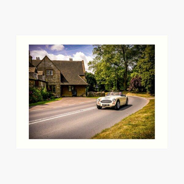 Classic drive. Art Print