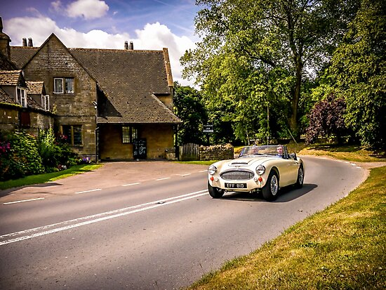 Classic drive. by ScenicViewPics