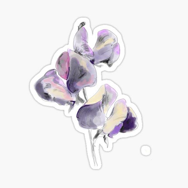 Sweet little flower.  Sticker