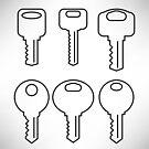 Key Icons by valeo5