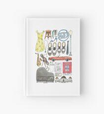 La La Land Illustration Jazz Saxophone Music Musical  Hardcover Journal