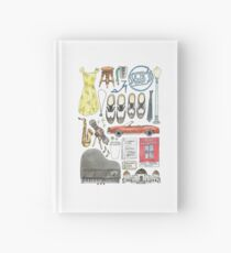 La La Land Illustration Jazz Saxophone Music Musical  Hardcover Journal