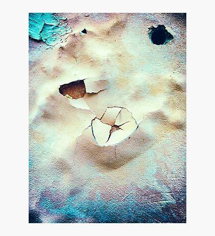 Desert craters Photographic Print