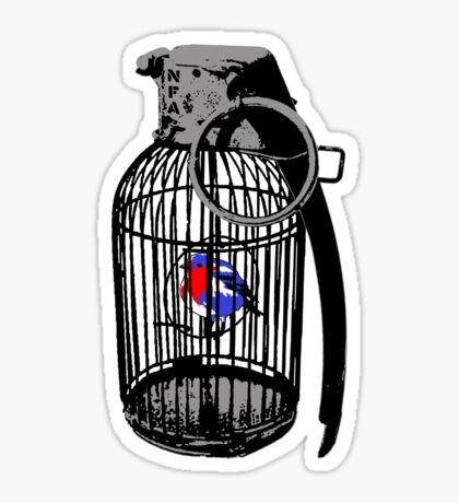 Wegner's Pet (The illusion of free will) Sticker