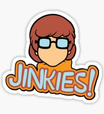 Jinkies! Velma Scooby Doo  Sticker