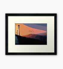 An Italian Sunset Framed Print
