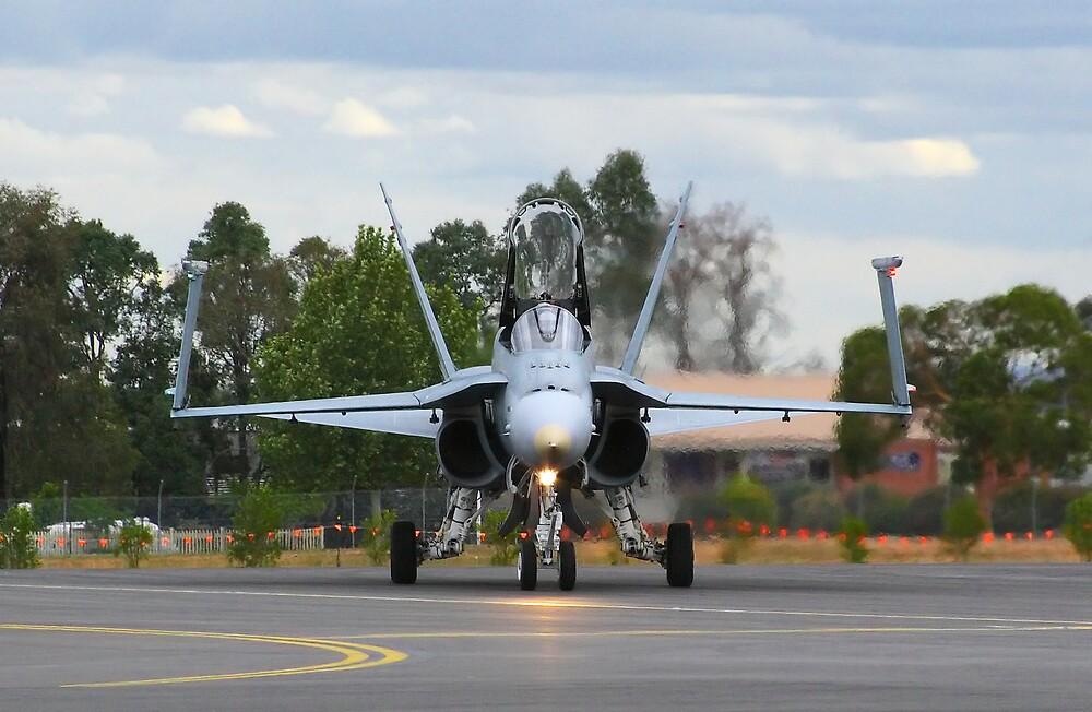 F/A-18 Hornet by Darren Post