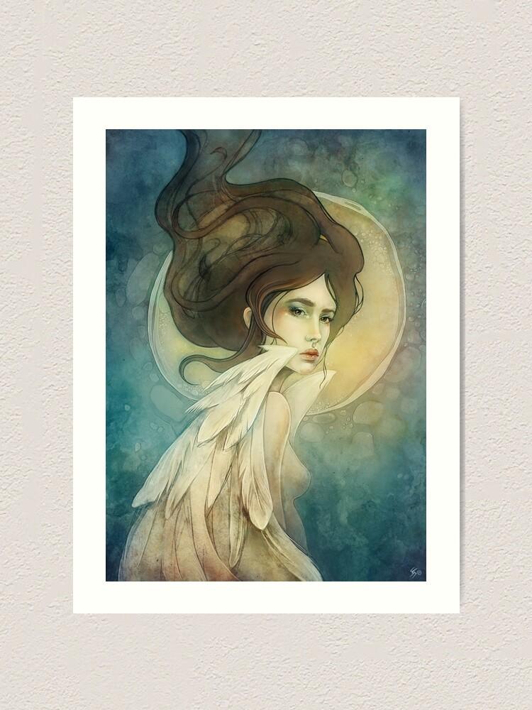 Alternate view of Angelic Art Print