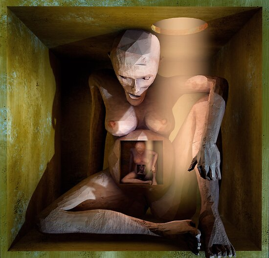 Ecce Homo 3 by Polygonist