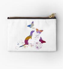 Water color Ferret Studio Pouch