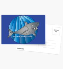 Shark design Postcards