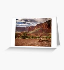 The Mountains of Capitol Reef - Utah Greeting Card