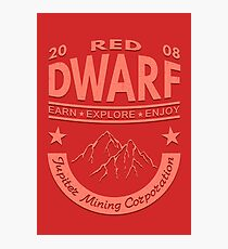 Red Dwarf Photographic Print