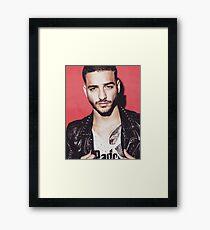 Maluma Framed Print