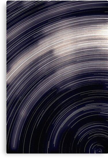 Star trails & south celestial pole by Duncan Waldron