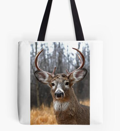 I am Prince - White-tailed deer Tote Bag