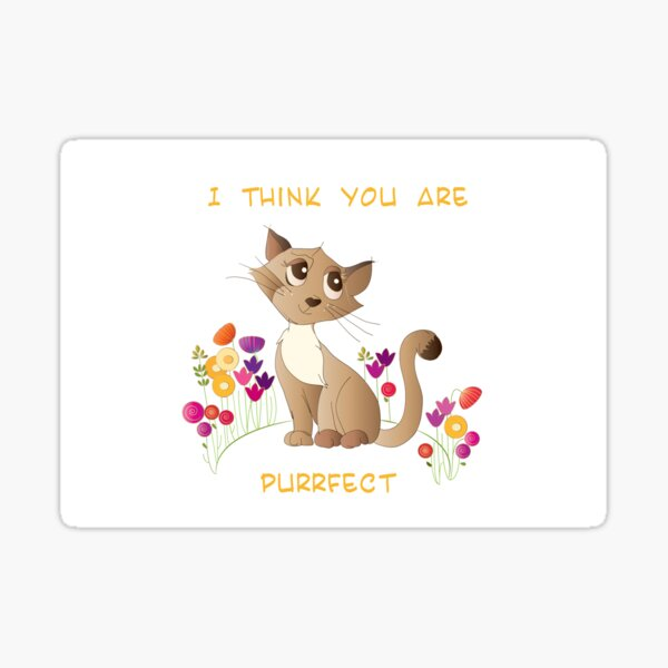 cat pun Sticker