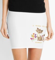 cat pun Mini Skirt