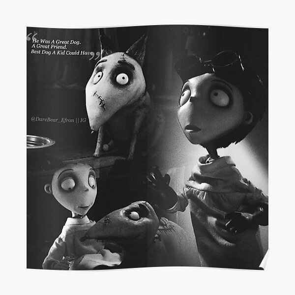 Frankenweenie Posters Redbubble