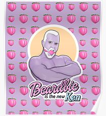 Beardbie is the new Ken Poster