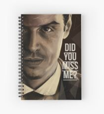 MISS ME OR NOT Spiral Notebook