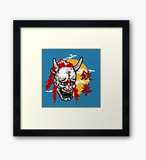 Iron Fist Ninja Framed Print