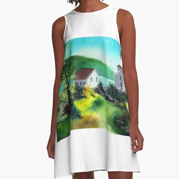 Lake Houses A-Line Dress