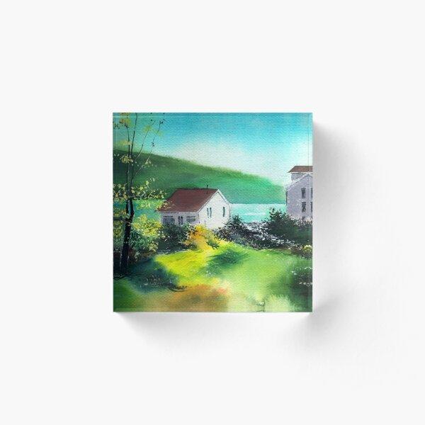 Lake Houses Acrylic Block