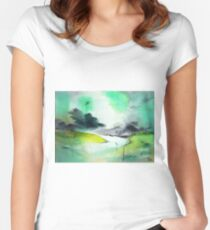 Dawn Women's Fitted Scoop T-Shirt