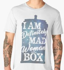 A Mad Woman With a Box Men's Premium T-Shirt