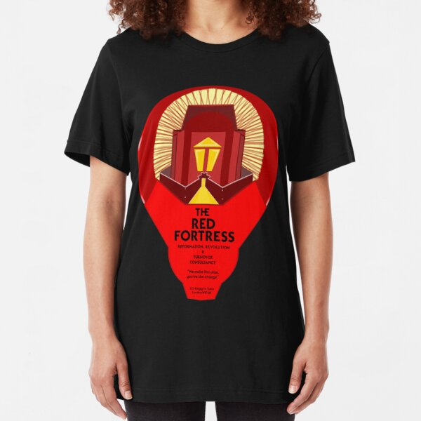 THE RED FORTRESS Slim Fit T-Shirt