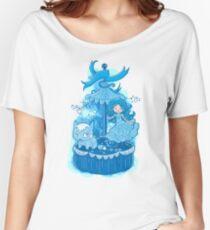 Blue Carousel Women's Relaxed Fit T-Shirt
