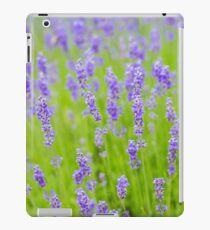 Lavender purple flowers  iPad Case/Skin