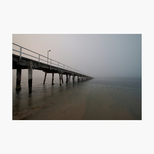 Fog at the Causeway Photographic Print