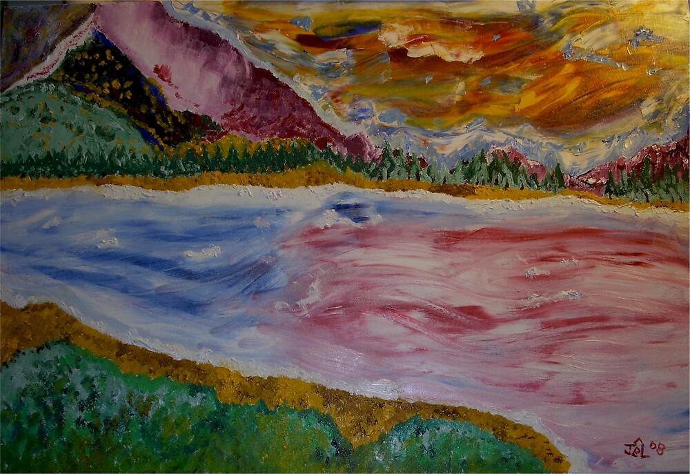 Mountain Lake by James Bryron Love
