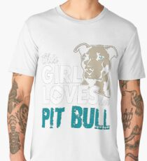 This Girl love her Pit Bull Men's Premium T-Shirt