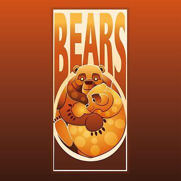 BEARS TOTEM - caring by OHBEARON