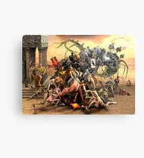 The Crusaders Metal Print
