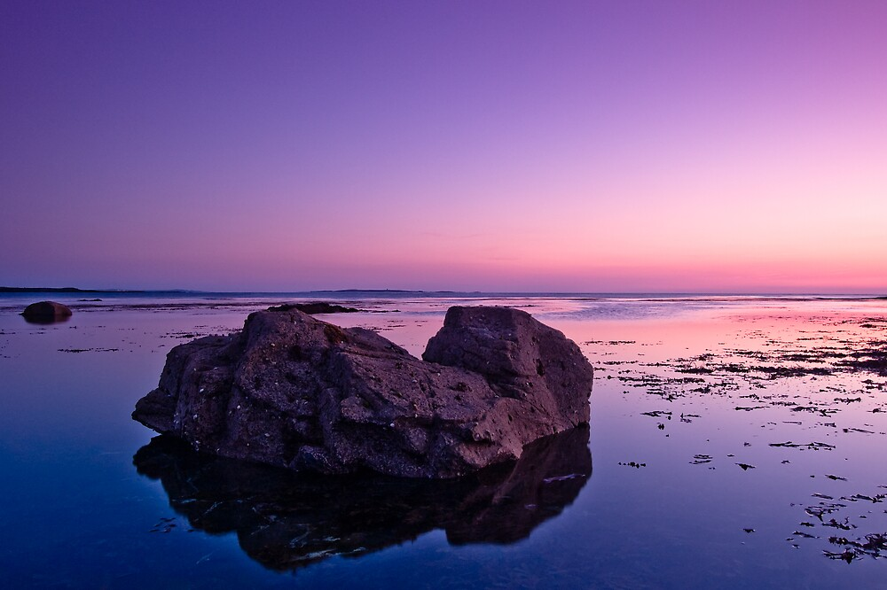 Rock in Water by ryanphotography